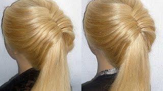 getlinkyoutube.com-Frisuren mit Fischgrätenzopf.Flecht/Zopffrisur.Fishtail Braid Hairstyles.Peinados