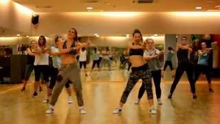 getlinkyoutube.com-Policeman - Eva Simons - Zumba choreography Zumba with Natalia Danielczak