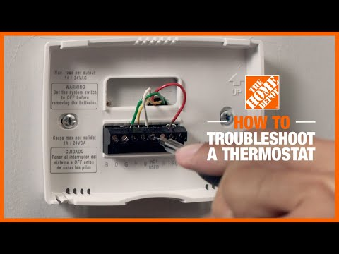 How to Troubleshoot a Thermostat