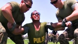 getlinkyoutube.com-U.S. Marines Tasering Philippines Military & Police - Taser Techniques Training