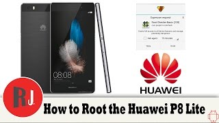 getlinkyoutube.com-How to Root the Huawei P8 Lite Android phone