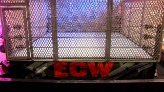 getlinkyoutube.com-WWE Authentic Scale Ring: Modern Cage Accessory Playset