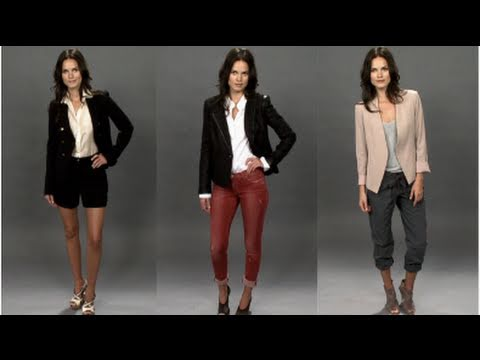 How To Wear A Blazer! -dutjzqBNZxs
