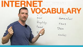 getlinkyoutube.com-English Vocabulary: 12 Internet words