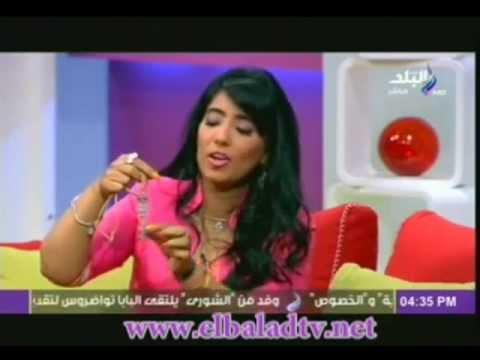 Magda El khouly interview On Sada El-Balad TV 16-04-2013
