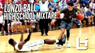 getlinkyoutube.com-Lonzo Ball Is The #1 Point Guard In The Nation! OFFICIAL Mixtape!