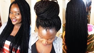 getlinkyoutube.com-How to Crochet Twist Braids│Quick & Easy
