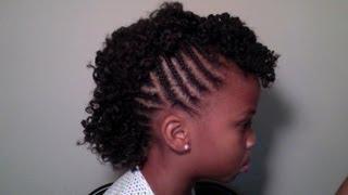 getlinkyoutube.com-Child's Natural Hair | Mohawk