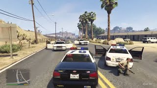 getlinkyoutube.com-GTA 5 COPS Episode 1 - Xbox One HD - Officer De Santa Patrol