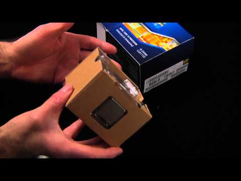 Unboxing i5 2500k Intel CPU Processor Chip Sandy Bridge 2nd Generation