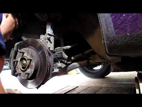 Как заменить стойки стабилизатора ford probe, mazda 626