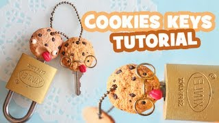 getlinkyoutube.com-Cookies Keys Tutorial: Polymer Clay How-to
