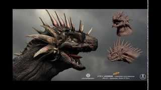 OFFICIAL LEAKED GODZILLA 2 2018 CONCEPT ART