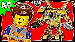 Lego Movie Emmet's CONSTRUCTO MECH 70814 Stop Motion Review