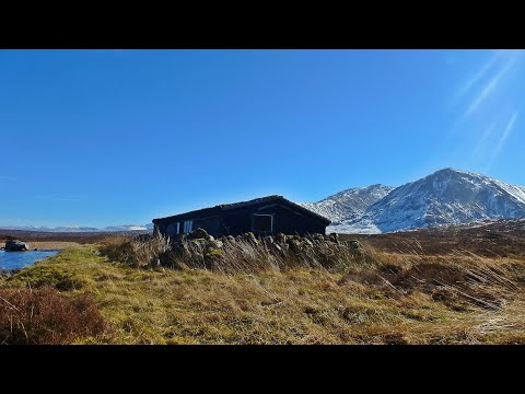 Wild camping glencoe scotland scottish highlands bushcraft cooking scottish salmon
