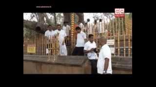 Ex-President visits Kiriwehera sacred site