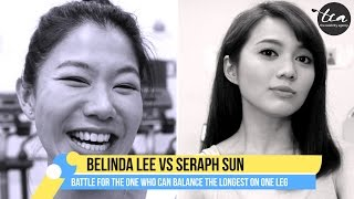 getlinkyoutube.com-Battle of the Balancing Babes - Belinda Lee Vs. Seraph Sun