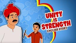 getlinkyoutube.com-Unity is Strength - English Moral Story for Kids