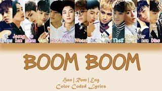 SEVENTEEN - BOOM BOOM (붐붐) [HAN|ROM|ENG Color Coded Lyrics] width=