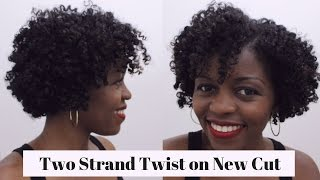 getlinkyoutube.com-Back to Basics: Two Strand Twist | Natural Hair 3c/4a | MissT1806