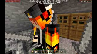 getlinkyoutube.com-Выживание в MineCraft Pocket Edition с другом (0.12.1) часть 1