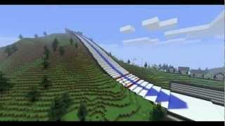 getlinkyoutube.com-Minecraft: Ski-Jump Fun!