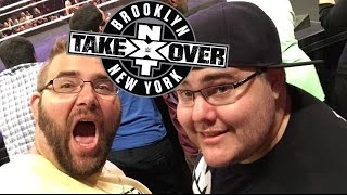 getlinkyoutube.com-EPIC WWE NXT TAKEOVER Adventure with Pickleboy! Grim sits 2nd ROW!