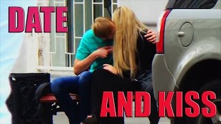 HOW TO KISS A GIRL ON A FIRST DATE . NEO PICKUP LINES.