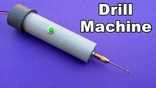 getlinkyoutube.com-How to Make a Powerful Drill Machine at Home