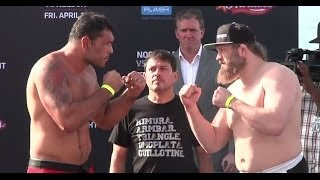 Pesajes de UFC Fight Night 39: Nogueira vs. Nelson