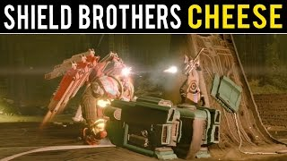 getlinkyoutube.com-Destiny Glitches - Shield Brothers Nightfall Cheese! (THIS IS GUARANTEED TO HELP)