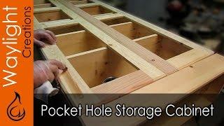 getlinkyoutube.com-Easy DIY Wood Storage Cabinet