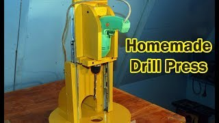 getlinkyoutube.com-Homemade Drill Press