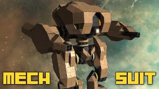 getlinkyoutube.com-Space Engineers: Mech Combat Suit, WIP,