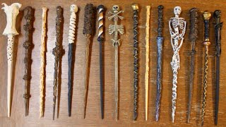 getlinkyoutube.com-How To Make Harry Potter Wands! DIY Witch and Wizard Magic Wands!