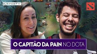 DOTA 2! KINGRD fala sobre time da PAIN e CARREIRA   Exclusiva