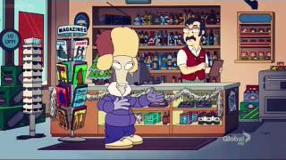 Roger can't get drunk - American Dad