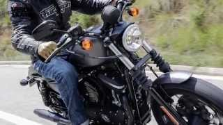 getlinkyoutube.com-Harley-Davidson Sportster Iron 883 review | Visordown Road Test