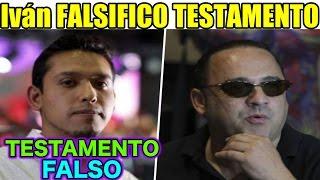 getlinkyoutube.com-Iván Aguilera FALSIFICO el TESTAMENTO  de JUAN GABRIEL