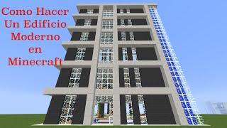 getlinkyoutube.com-Como Hacer Un Edificio Moderno en Minecraft (PT1)