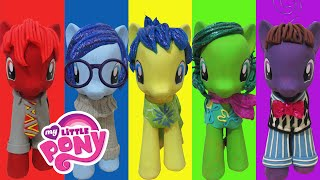 "getlinkyoutube.com-Play Doh ""INSIDE OUT"" Joy Sadness Disgust Anger Fear Inspired Costumes My Little Pony"