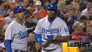 getlinkyoutube.com-LAD@SF: Dodgers notch five triples vs. the Giants