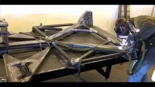 getlinkyoutube.com-Jesse James Monster Garage Trophy Truck Rebuild - Y Frame Welding The GMR