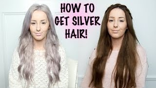 getlinkyoutube.com-How To: Silver Hair Tutorial! | by tashaleelyn