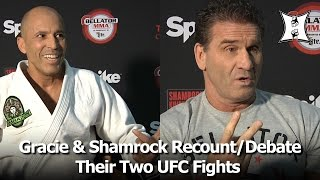 getlinkyoutube.com-Bellator's Royce Gracie & Ken Shamrock Recount UFC 1 and UFC 5; Debate Rules + Strategy