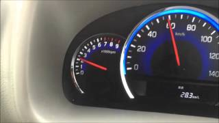 getlinkyoutube.com-エブリイ ジョインターボ4WD MT DA17V 新車時 60km/hの燃費