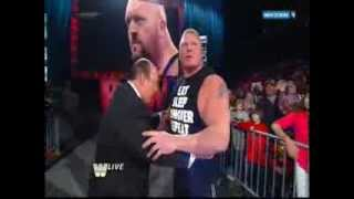 getlinkyoutube.com-Brock Lesnar vs Mark Henry vs Big Show  Life