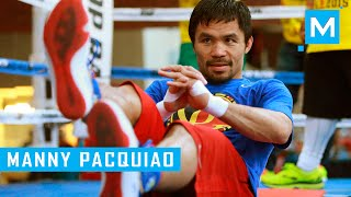 getlinkyoutube.com-Manny Pacquiao Boxing Training | Muscle Madness