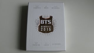 getlinkyoutube.com-Unboxing BTS (Bangtan Boys) 방탄소년단 Memories of 2015 DVD