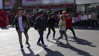 JHKTV] 리틀 케이 타이거댄스shinchon k-pop dance little k-tiger mic drop